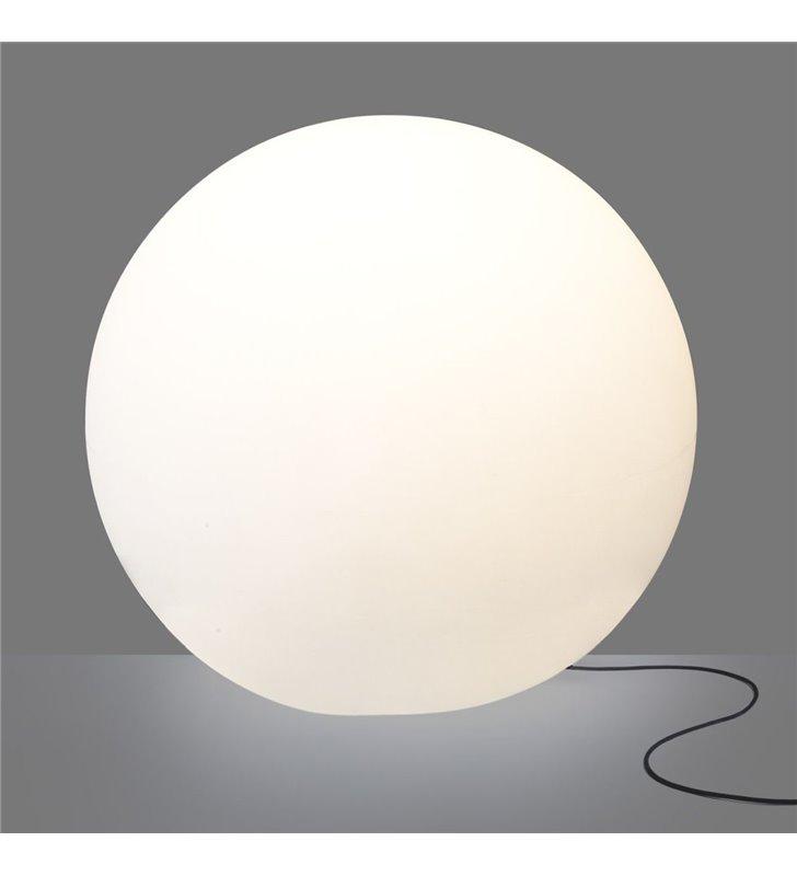 Cumulus 800 lampa ogrodowa biała kula