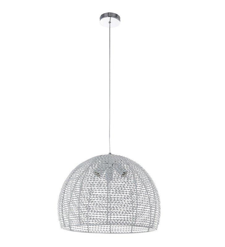 Metalowa lampa wisząca Formo chrom 3 żarówki