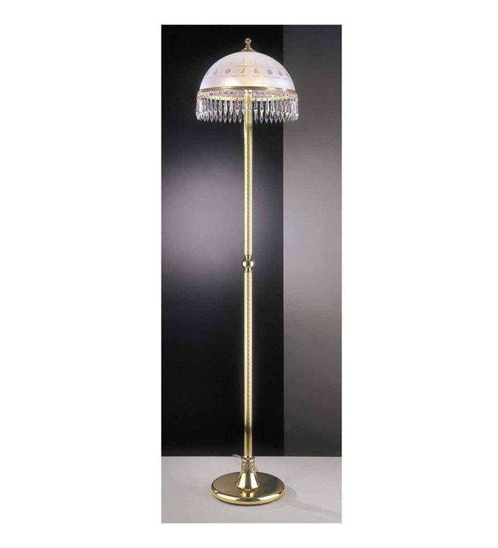 Lampa podłogowa z kryształkami Umbria