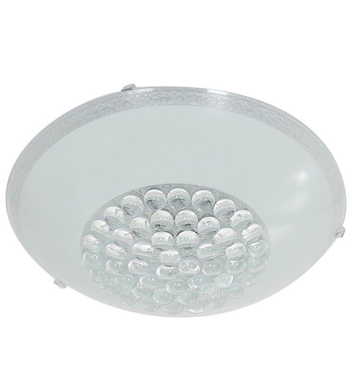 Okrągły szklany plafon Rufin 300 LED