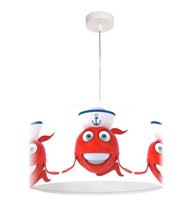 Kolorowa lampa wisząca dla dziecka Nemo1 średnica 50cm