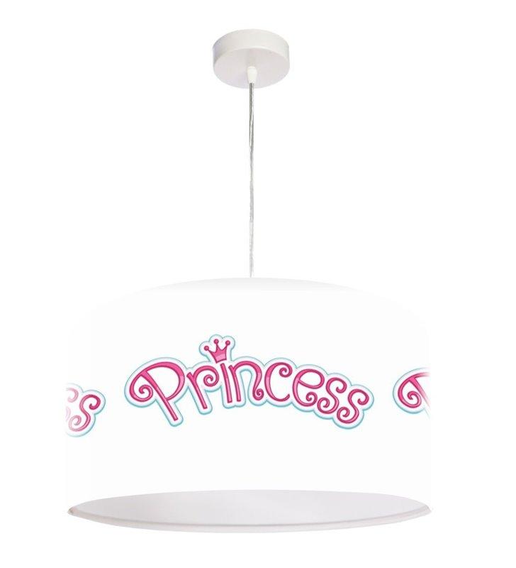 Lampa wisząca Princess dla dziewczynki