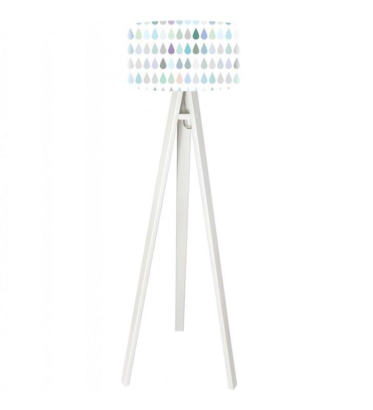 Lampa podłogowa dla dziecka Pastelowe Kropelki - OD RĘKI