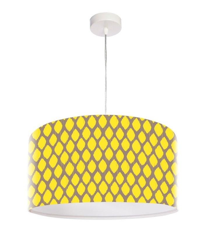 Żółta lampa wisząca Słoneczny Poranek