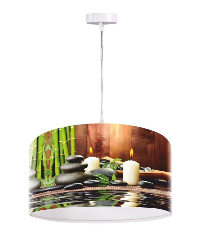 Lampa wisząca Spa do salonu kuchni jadalni sypialni 50cm