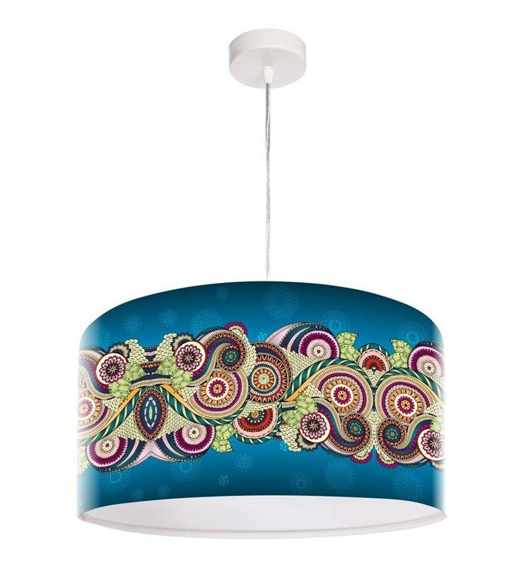 Lampa wisząca Mandala Kreatywności wielokolorowa