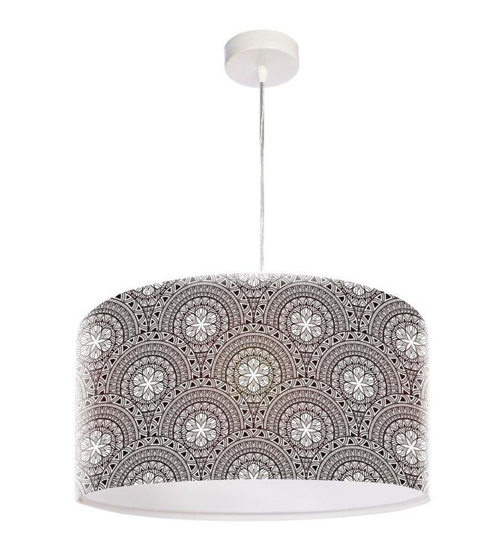 Wzorzysta lampa wisząca Mandala Piękna