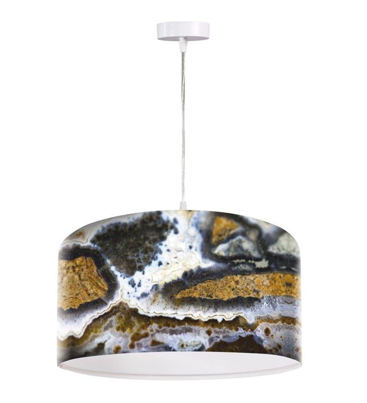 Lampa wisząca Zamki na Piasku barwna oryginalny nadruk