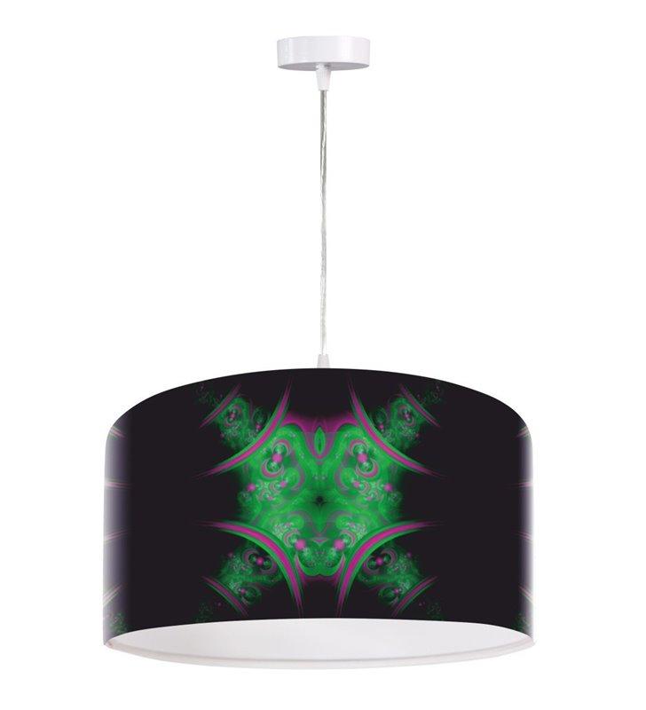 Lampa wisząca Dziki Czas abażur z tworzywa wysokiej jakości nadruk