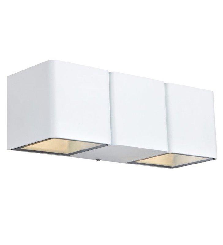Nowoczesna biała lampa ścienna Ceto LED