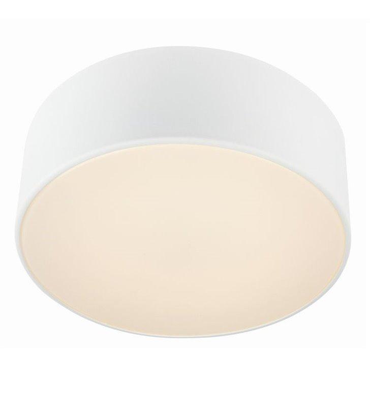 Biały plafon łazienkowy Facile 280 LED okrągły - DOSTĘPNY OD RĘKI
