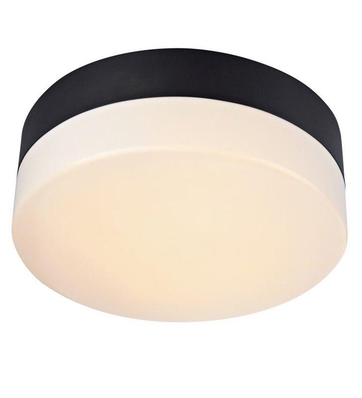 Plafon łazienkowy Deman 280 LED czarny