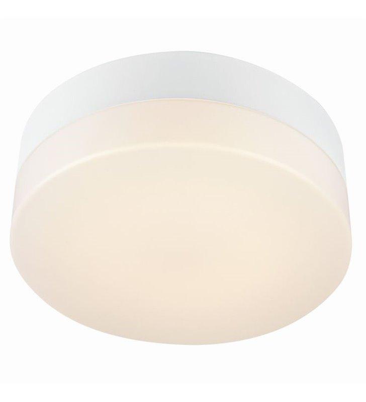 Nowoczesny plafon łazienkowy Deman 280 LED biały produkt szwedzki