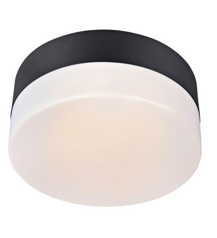 Mały nowoczesny plafon do łazienki Deman 220 LEDowy