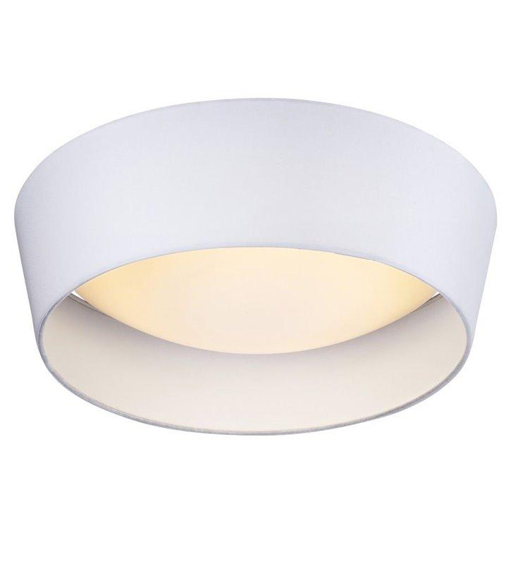 Plafon Vito 390 biały nowoczesny tekstylny LED do salonu sypialni na przedpokój