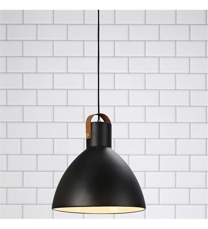 Lampa wisząca Eagle czarna metalowa