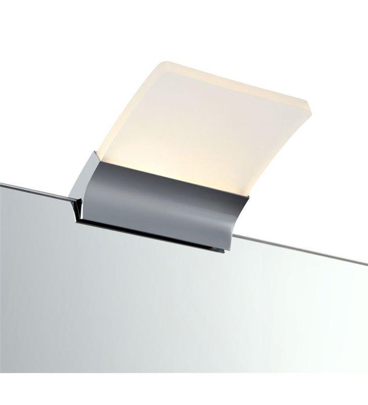 Kinkiet łazienkowy Metz LED montaż na lustrze nowoczesny