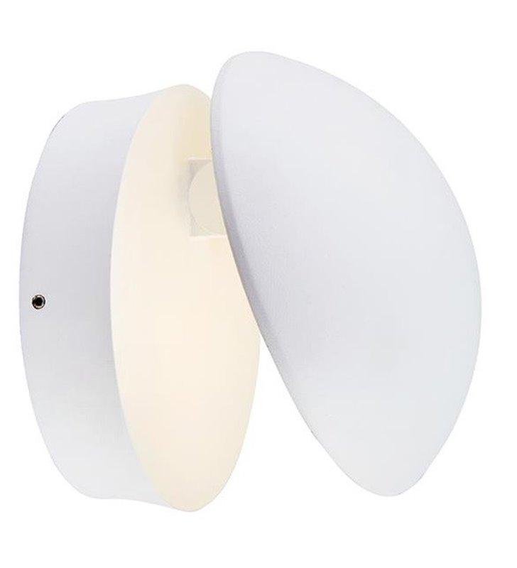 Kinkiet do ogrodu Bugsy biały nowoczesny LED 640lm