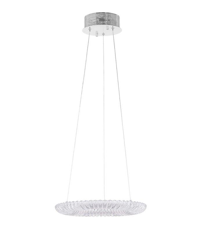 Lampa wisząca Rea 40cm dekoracyjna z tworzywa