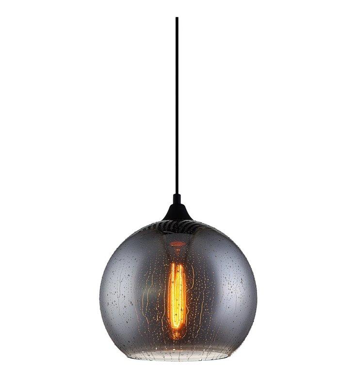 Lampa wisząca Tabby szklana kula efekt mokrego klosza