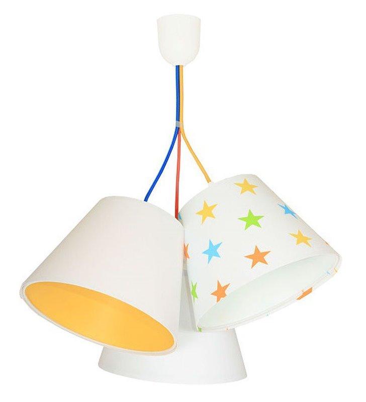 Lampa wisząca Antek kolorowa dziecięca
