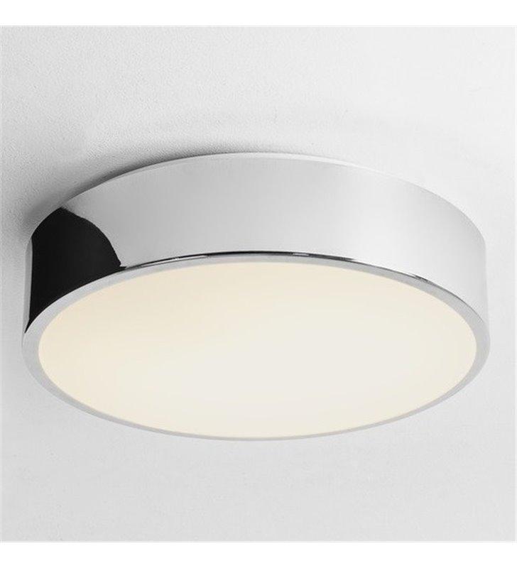 Plafon łazienkowy Mallon 330 LED wysokiej jakości wykończenie chrom