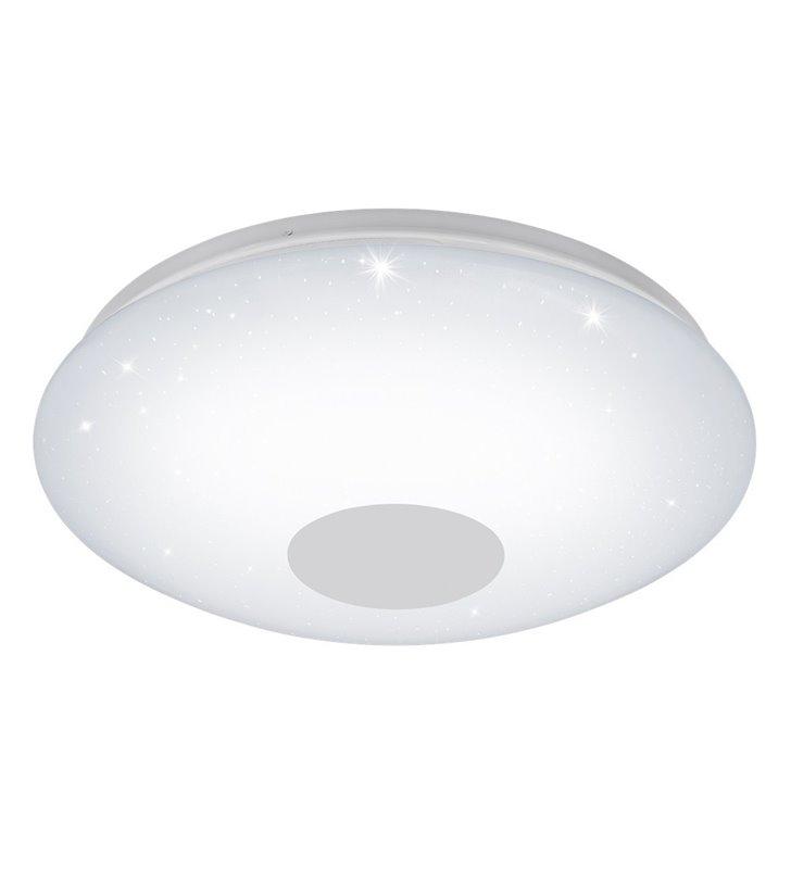 Voltago-C 380 okrągły plafon, lampa sufitowa i ścienna LED biały z efektem blasku