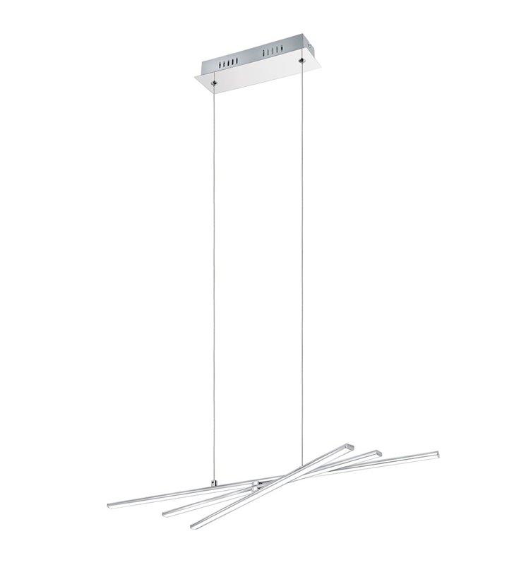 Lampa wisząca Parri LED do salonu jadalni chromowana