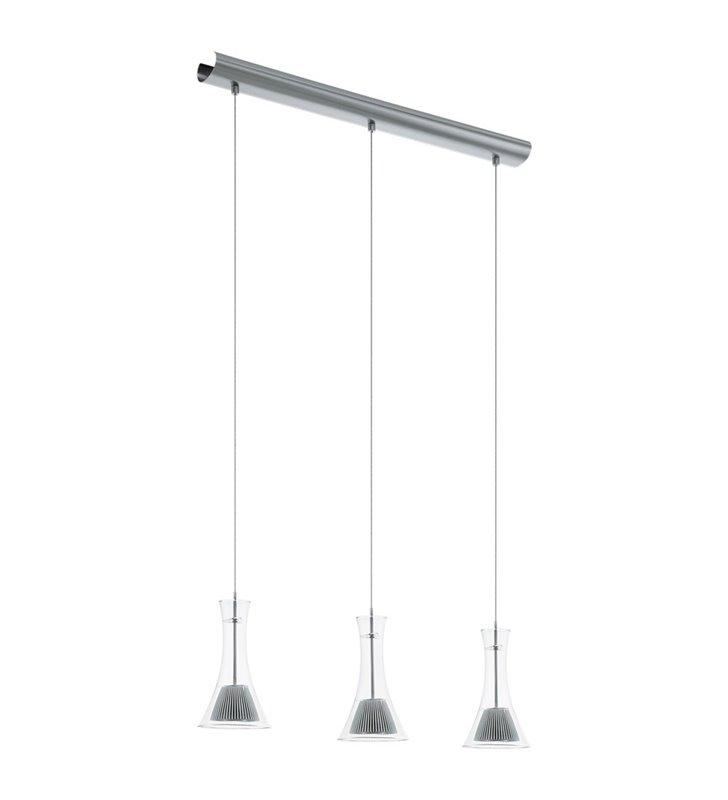 Lampa wisząca Musero1 z 3 kloszami ze szkła jadalnia kuchnia salon sypialnia