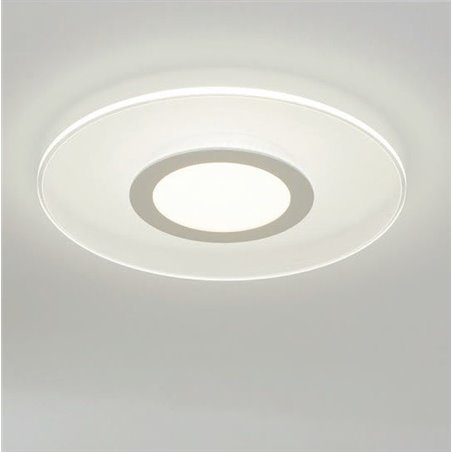 Biały nowoczesny plafon Reducta 380 LED