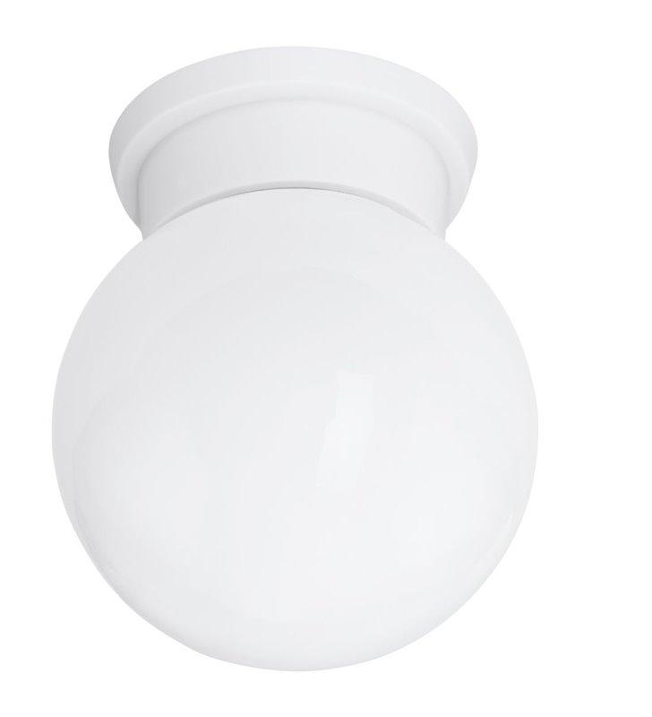 Mały biały plafon Durelo 160