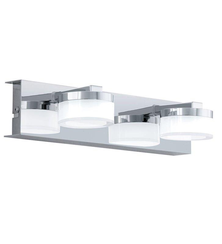 2 punktowy kinkiet nad lustro łazienkowe Romendo1 chrom styl nowoczesny