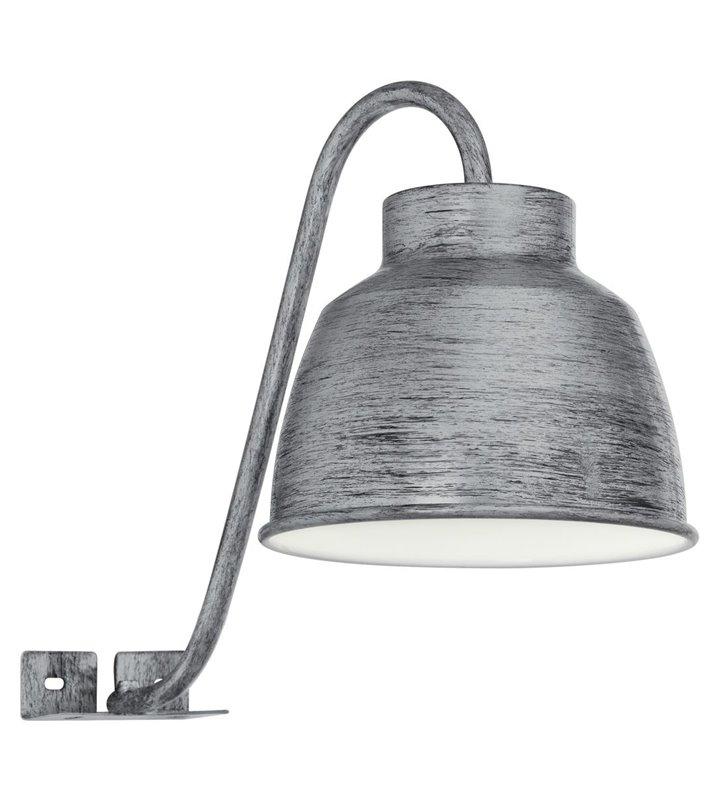 Lampa montowana na szafce np. łazienkowej kuchennej Epila w stylu vintage kolor antyczne srebro IP44