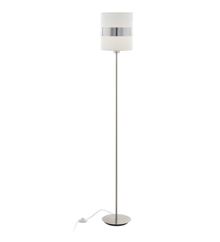 Lampa stojąca Abton z włącznikiem nożnym