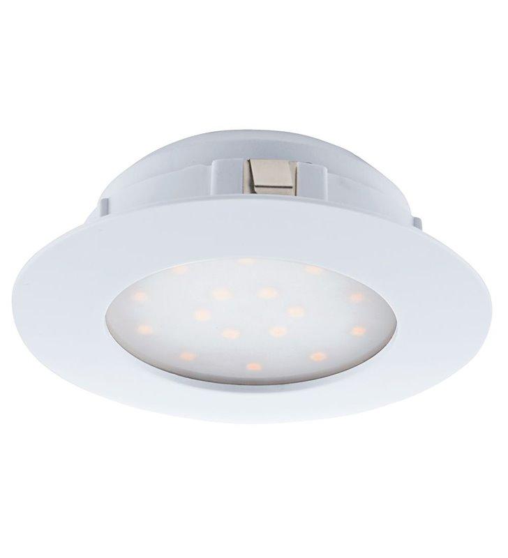 Okrągła biała oprawa punktowa Pineda LED średnica 102mm wymienny moduł LED