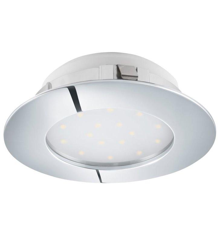 Oprawa punktowa chrom średnica 10cm Pineda LED wymienny moduł LED