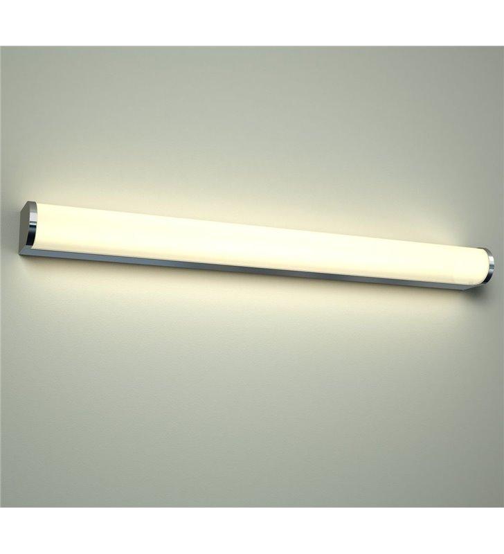Podłużna lampa łazienkowa Petra 60cm naturalna barwa światła LED