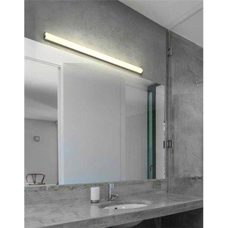120cm Podłużny Kinkiet Do Oświetlenia Lustra łazienkowego Petra Naturalna Barwa światła