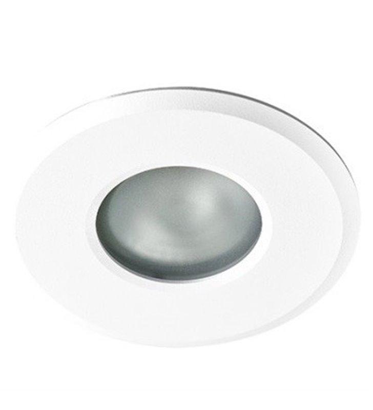 Nieruchoma oprawa punktowa do łazienki Oscar kolor biały IP44