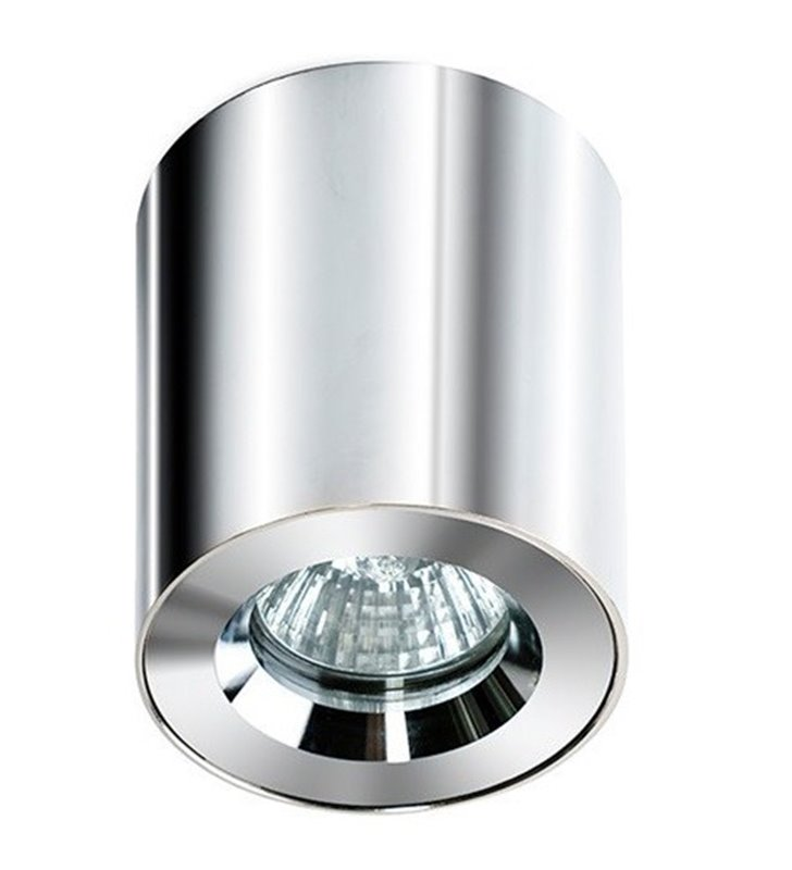 Lampa sufitowa do łazienki typu downlight IP54 Aro chrom