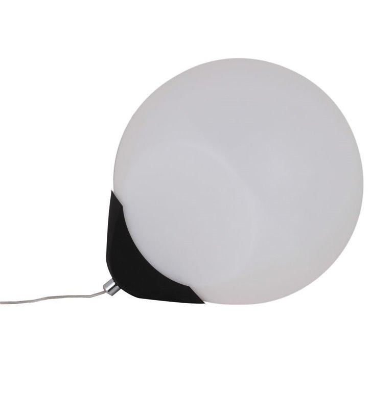 Oryginalana lampa stołowa bez podstawy Aris kula z przewodem