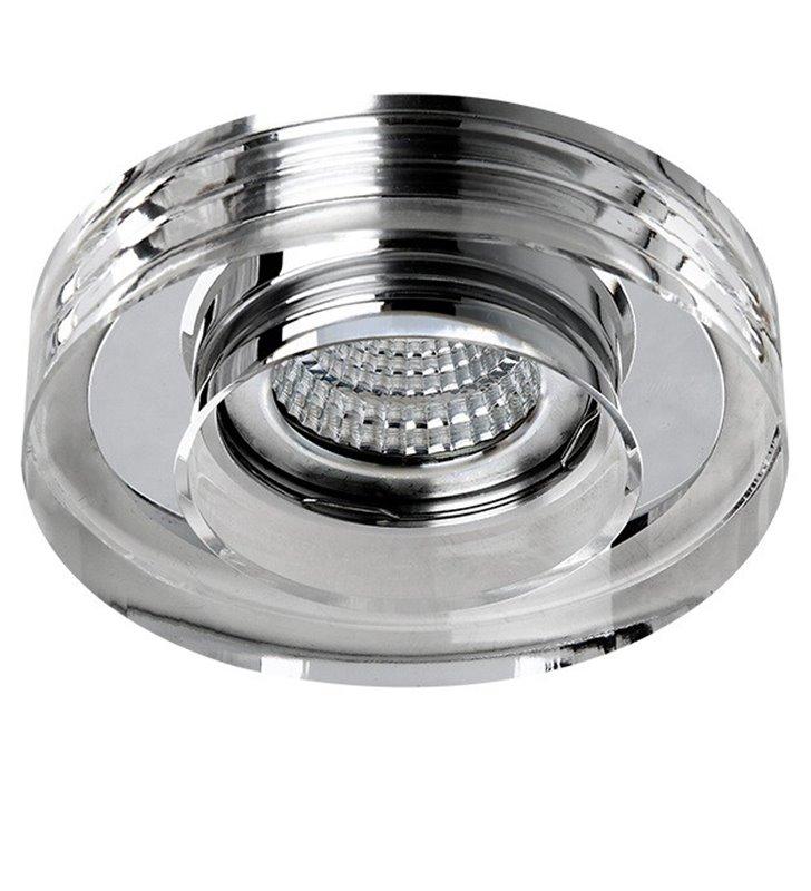 Okrągła lampa punktowa wykonana ze szkła kryształowego Vektor