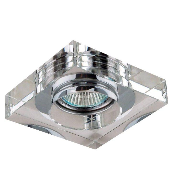 Kwadratowa lampa punktowa wykonana ze szkła kryształowego Vektor