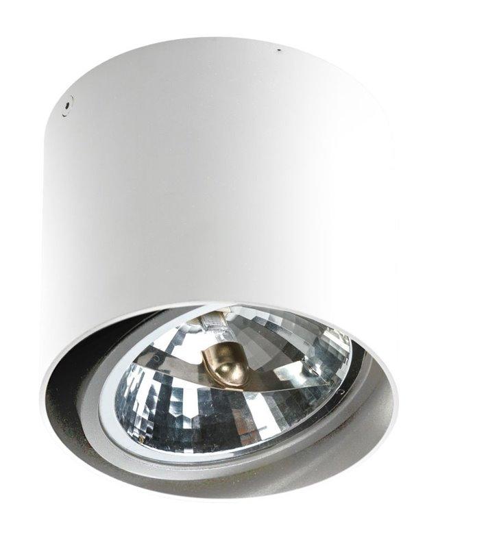 Lampa sufitowa downlight Alix biała okrągła 12V