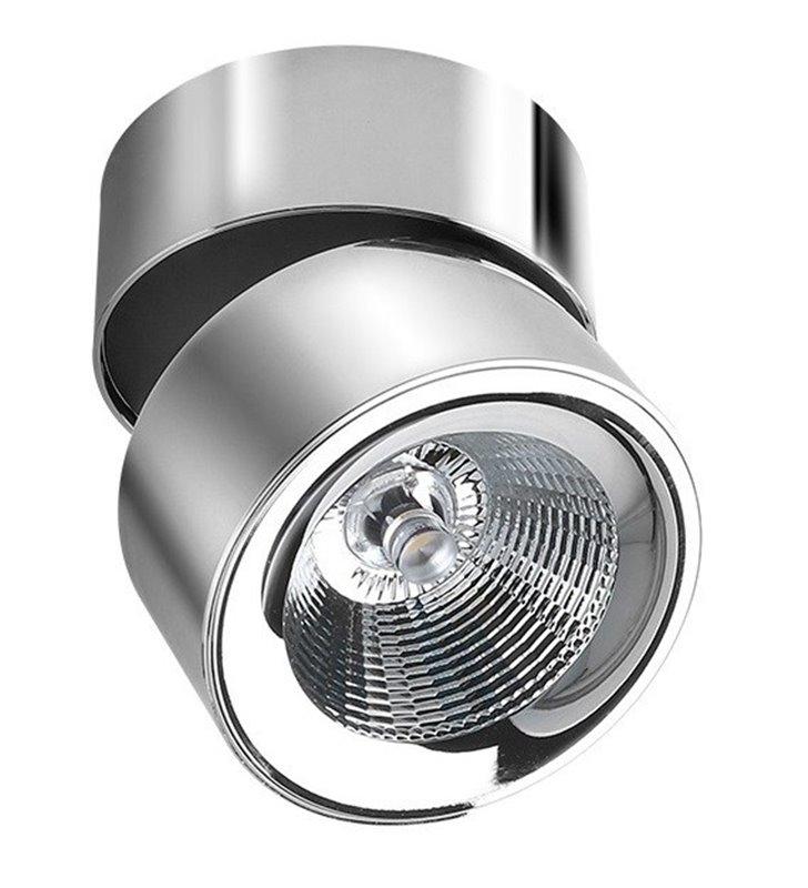 Lampa sufitowa downlight Scorpio chrom nowoczesna ruchoma LED