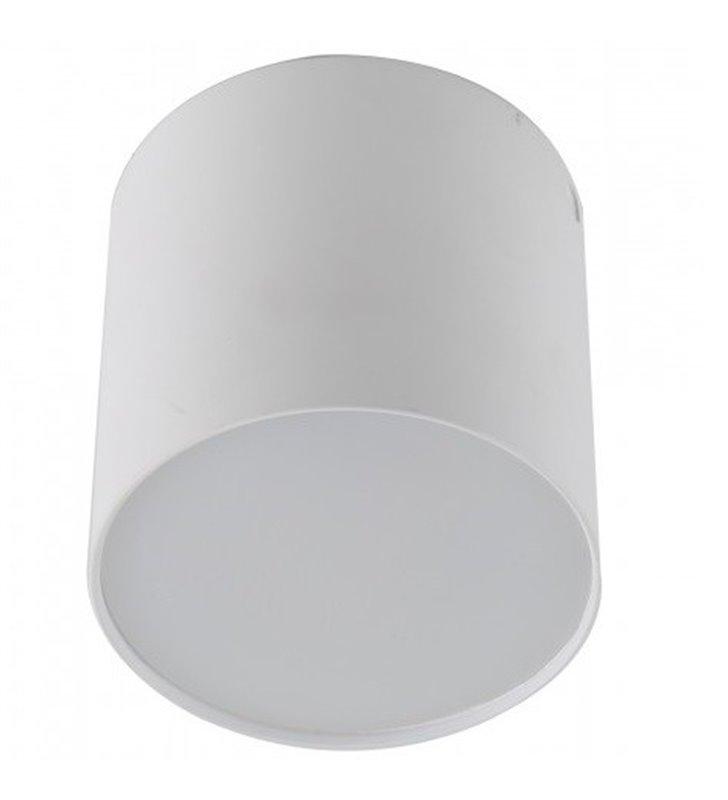 Lampa sufitowa Mateo LED średnica 7,5cm kolor biały 3000K 520lm