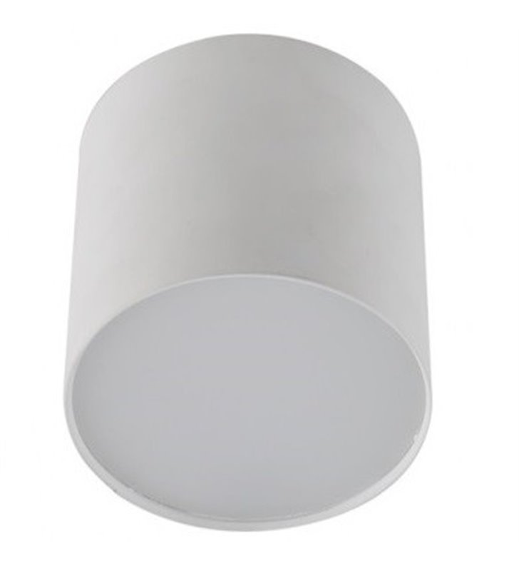 Lampa downlight biała matowa średnica 8,5cm 3000K 710lm Mateo
