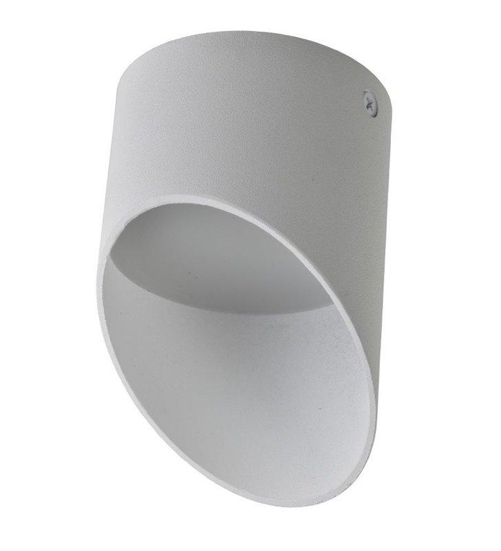 Lampa sufitowa Momo biała matowa średnica 11,5cm asymetryczna