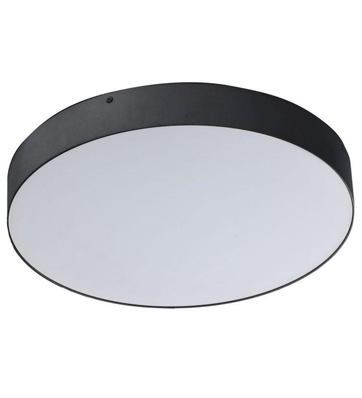 Plafon Monza 400 LED okrągły czarny 4000K naturalna barwa światła 4400lm