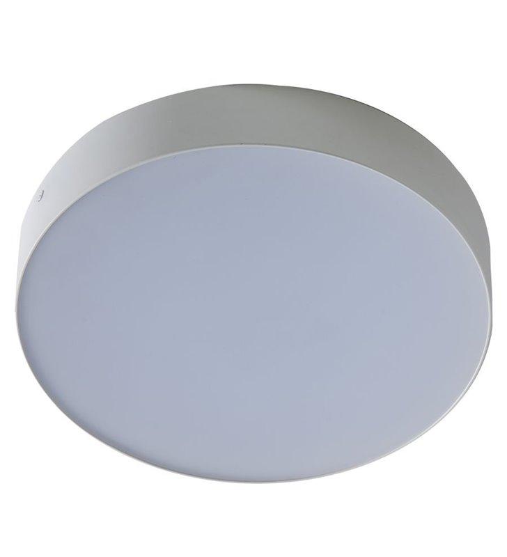 Monza 40cm plafon w białym kolorze naturalna barwa światła LED 4000K
